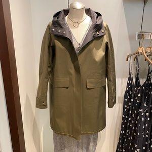 Reversible Herno raincoat